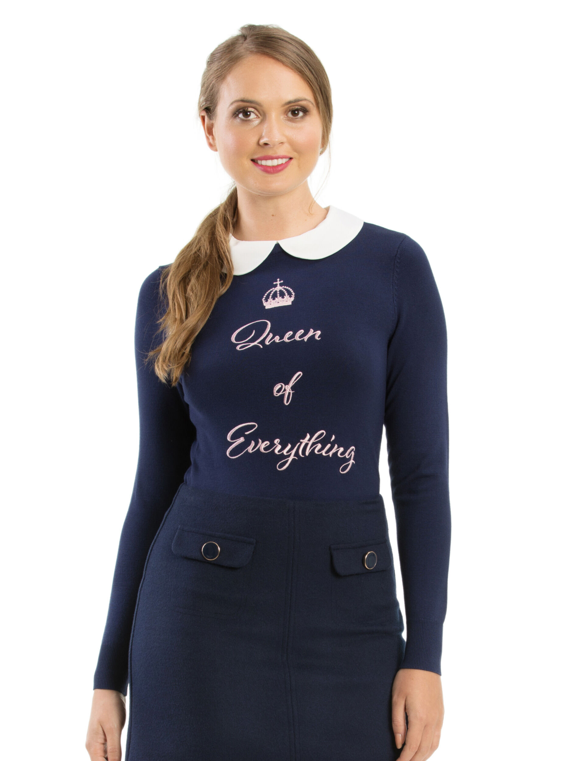 Queen Of Everything Jumper
