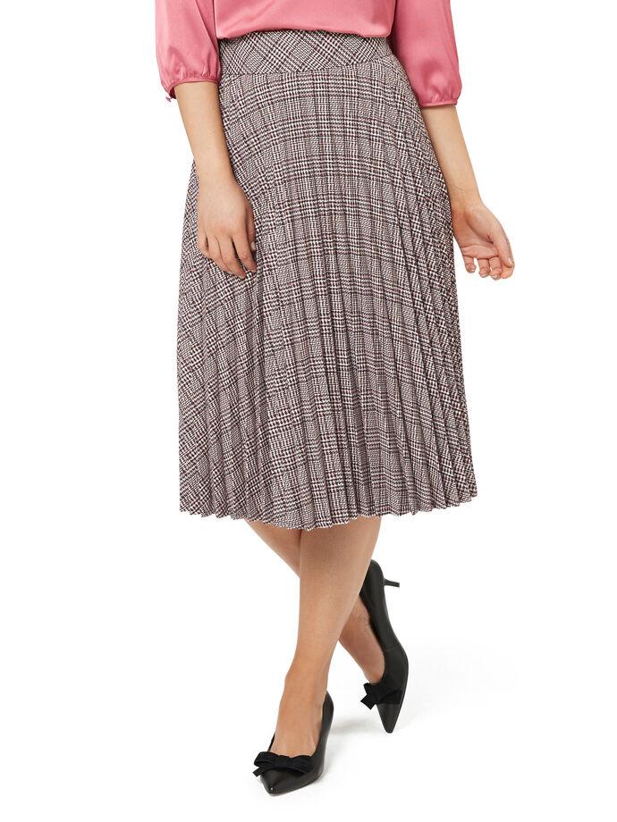 Priska Check Skirt