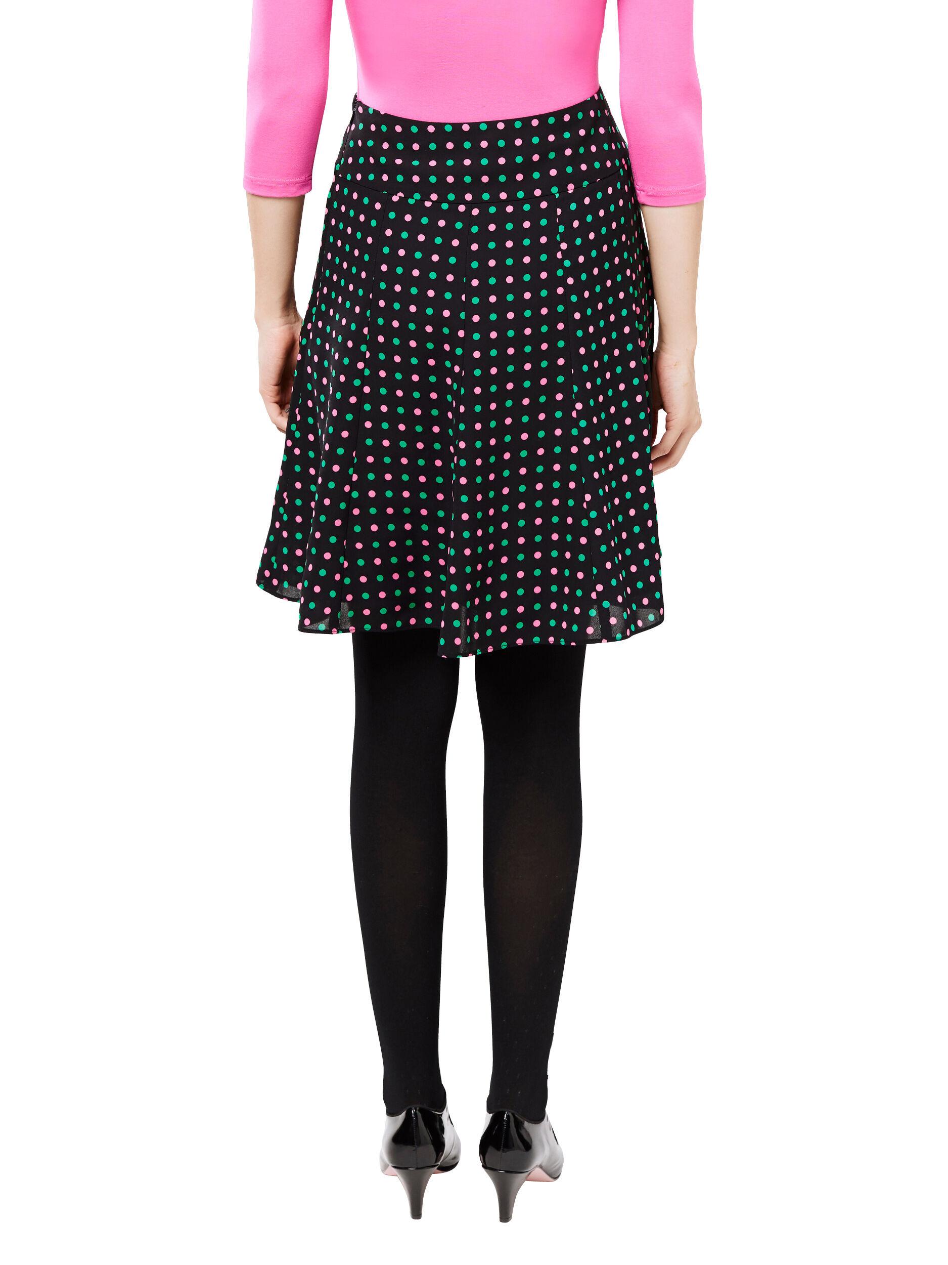 Mietta Spot Skirt