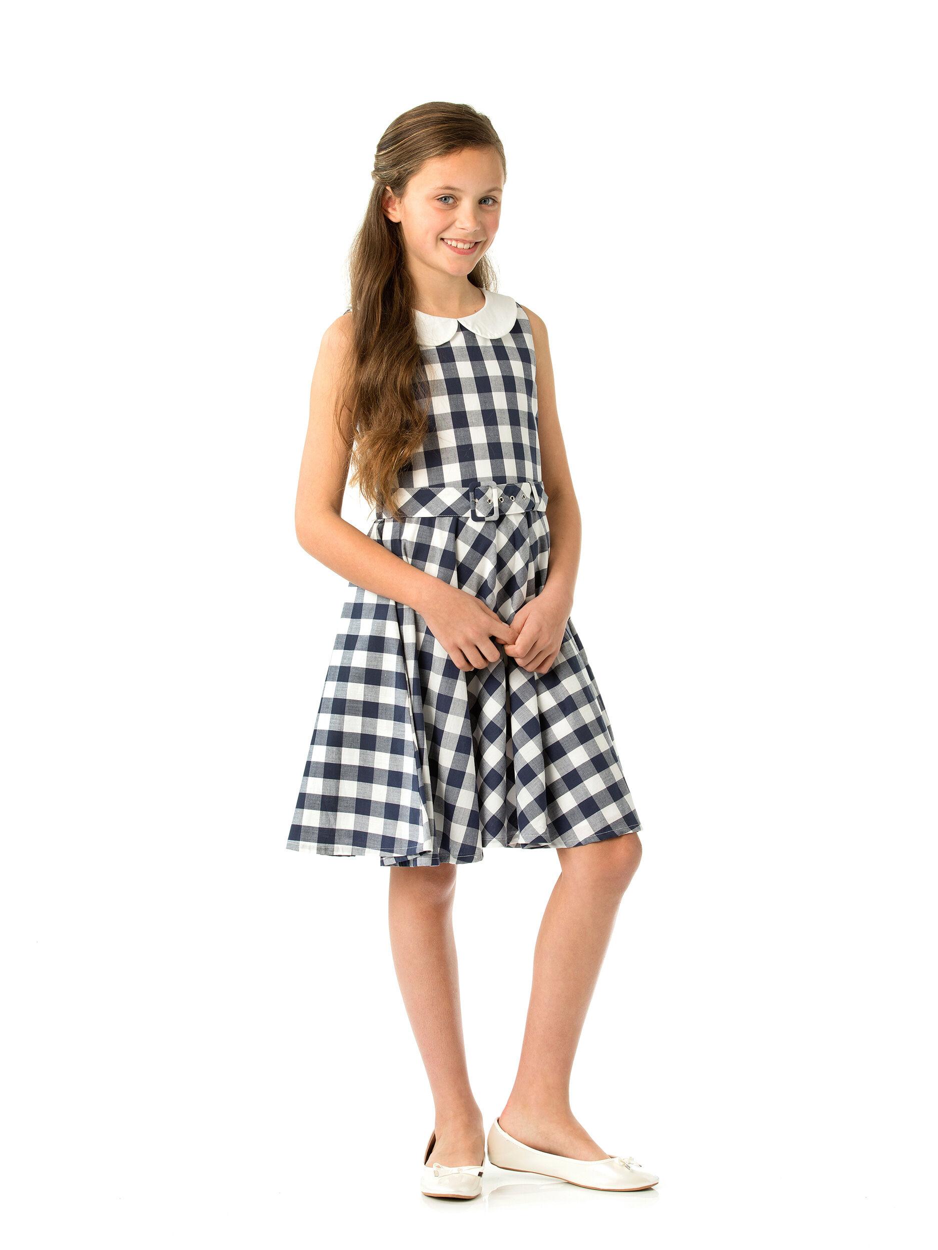 7f3f2159021bd 8-16 Girls Review Border Prom Dress