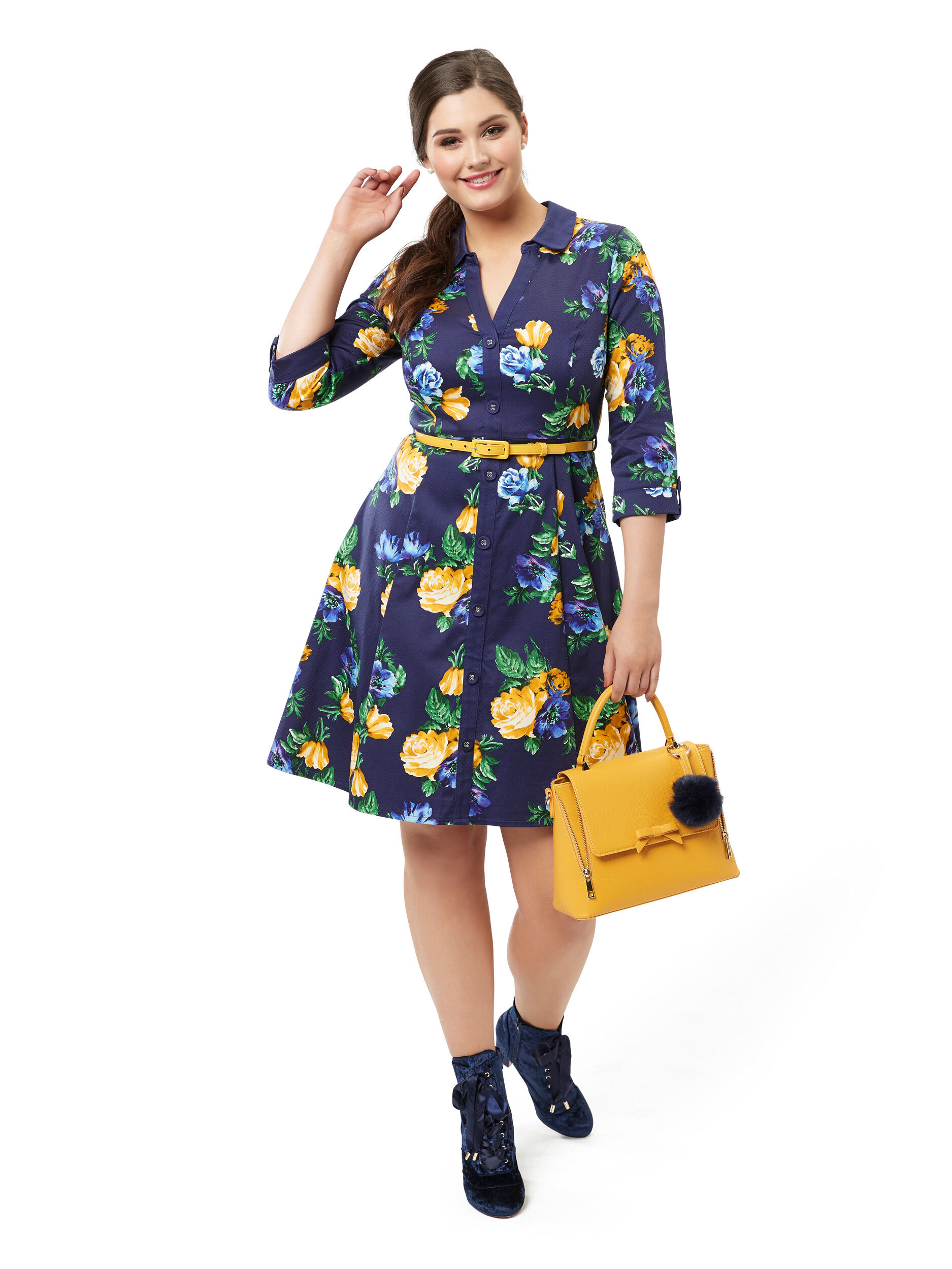 Nanette Shirt Dress