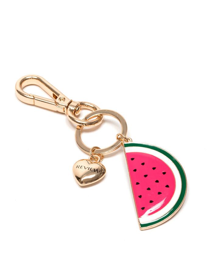 Melon Slice Keyring