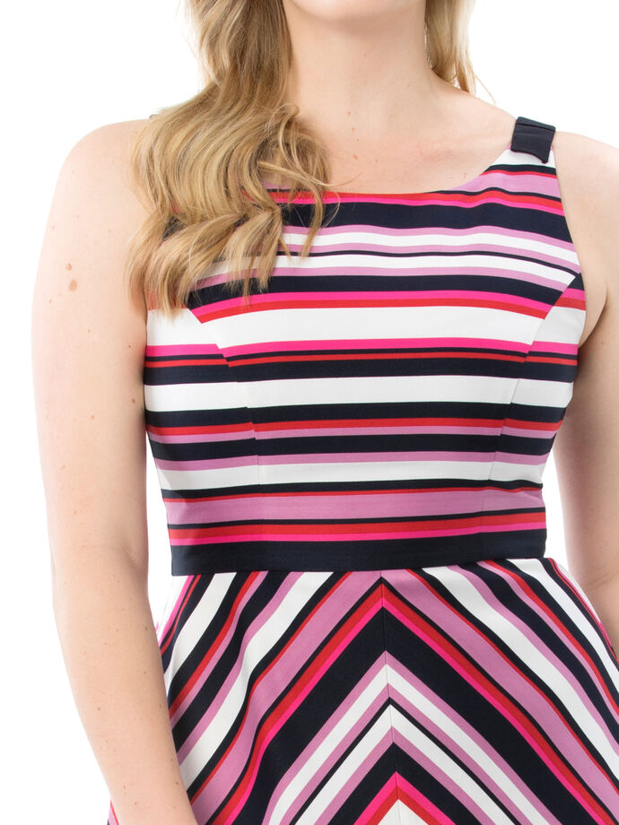 Lollipop Stripe Dress