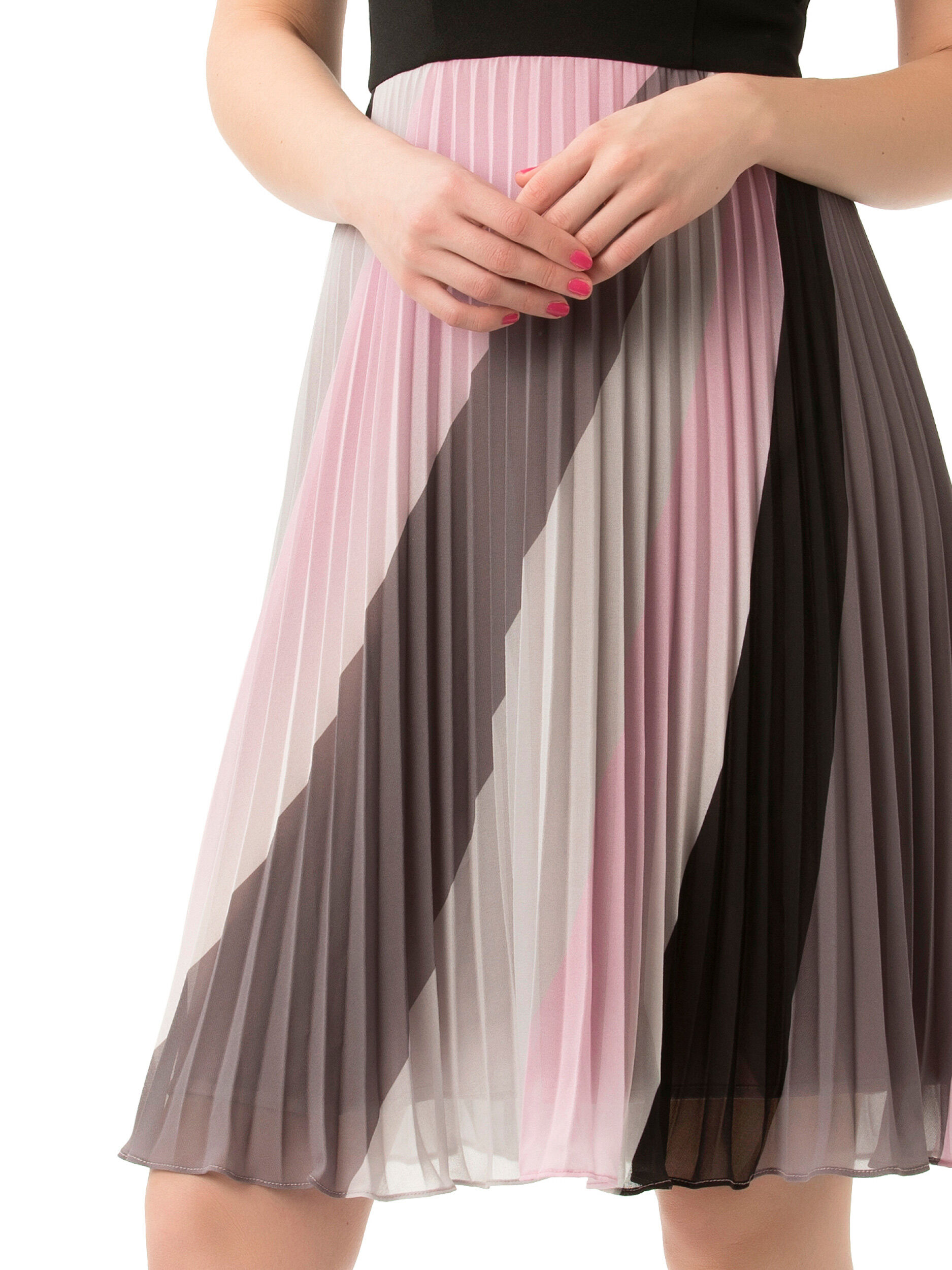 Galaxy Stripe Dress