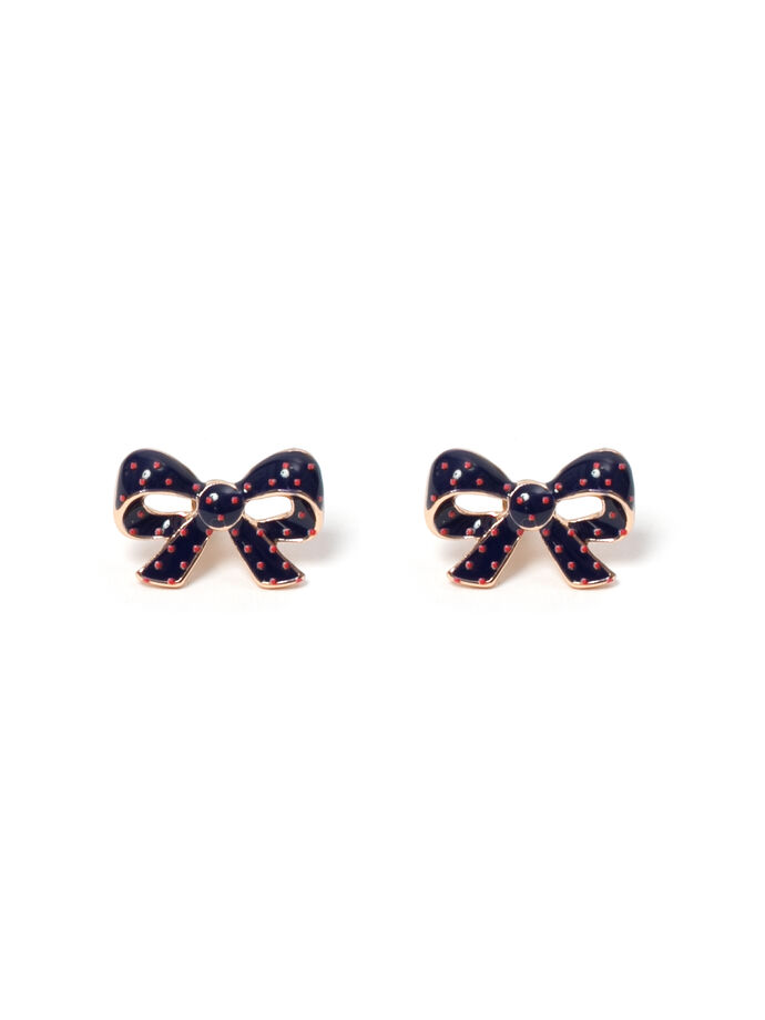 Trixie Bow Stud Earrings