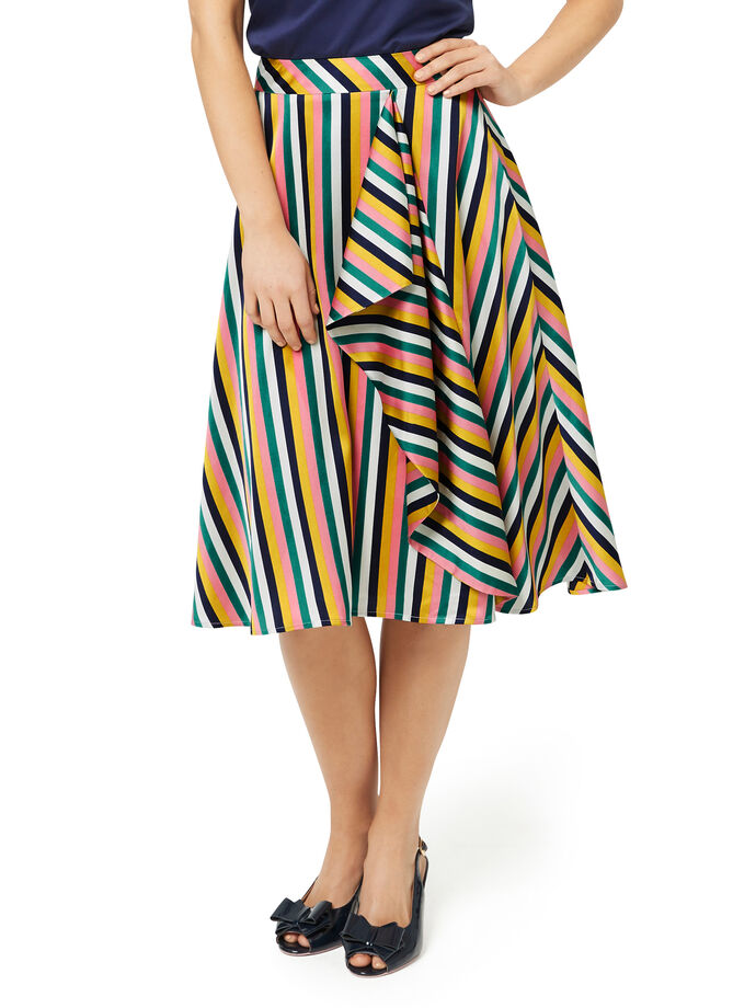 Hey Presto Stripe Skirt