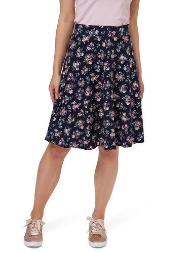 Enamoured Ponte Skirt