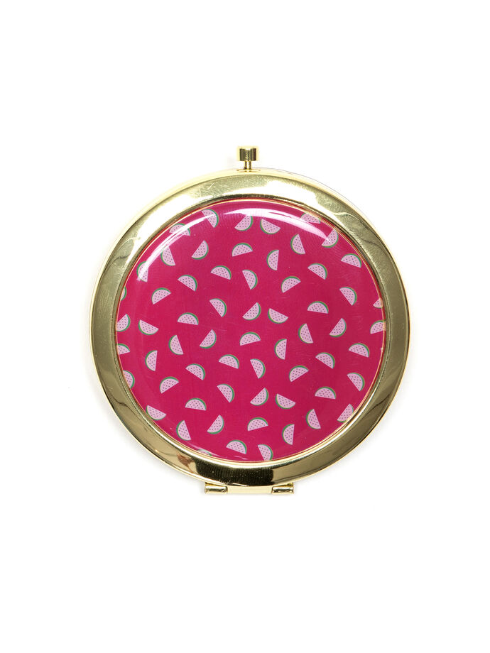 Melon Pop Compact Mirror