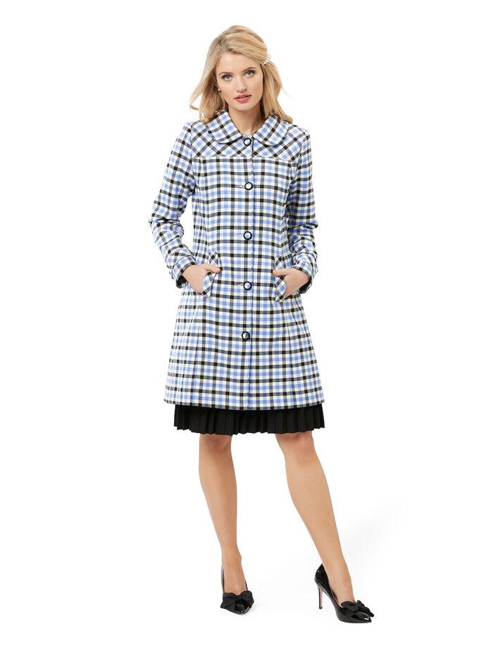 Wilma Check Coat