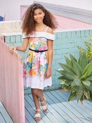 8-14 Girls Carolina Dress