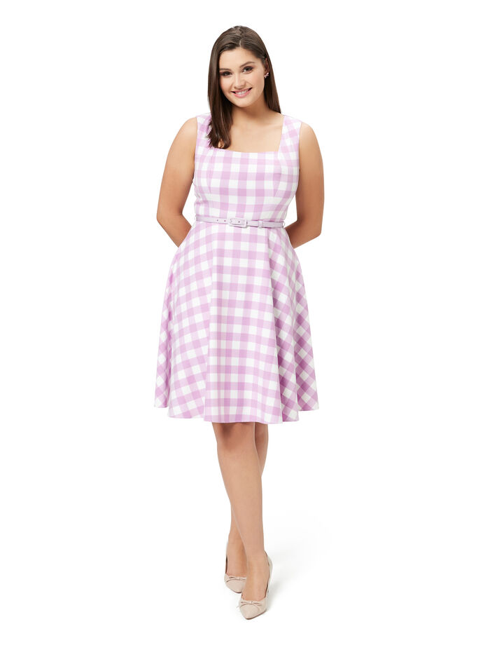 Arabella Check Dress