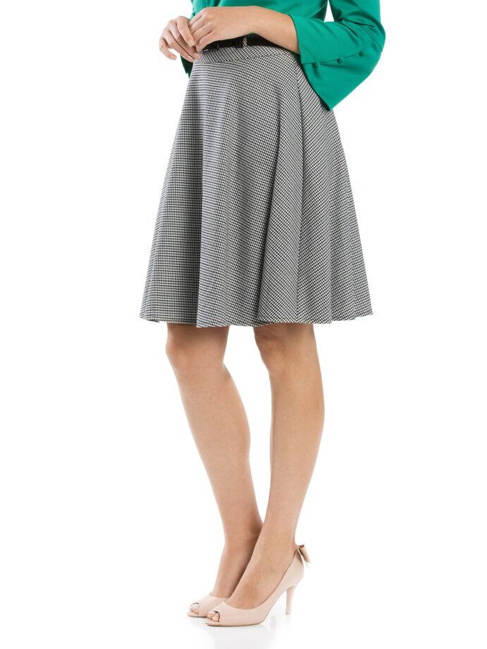 Avalon Check Skirt