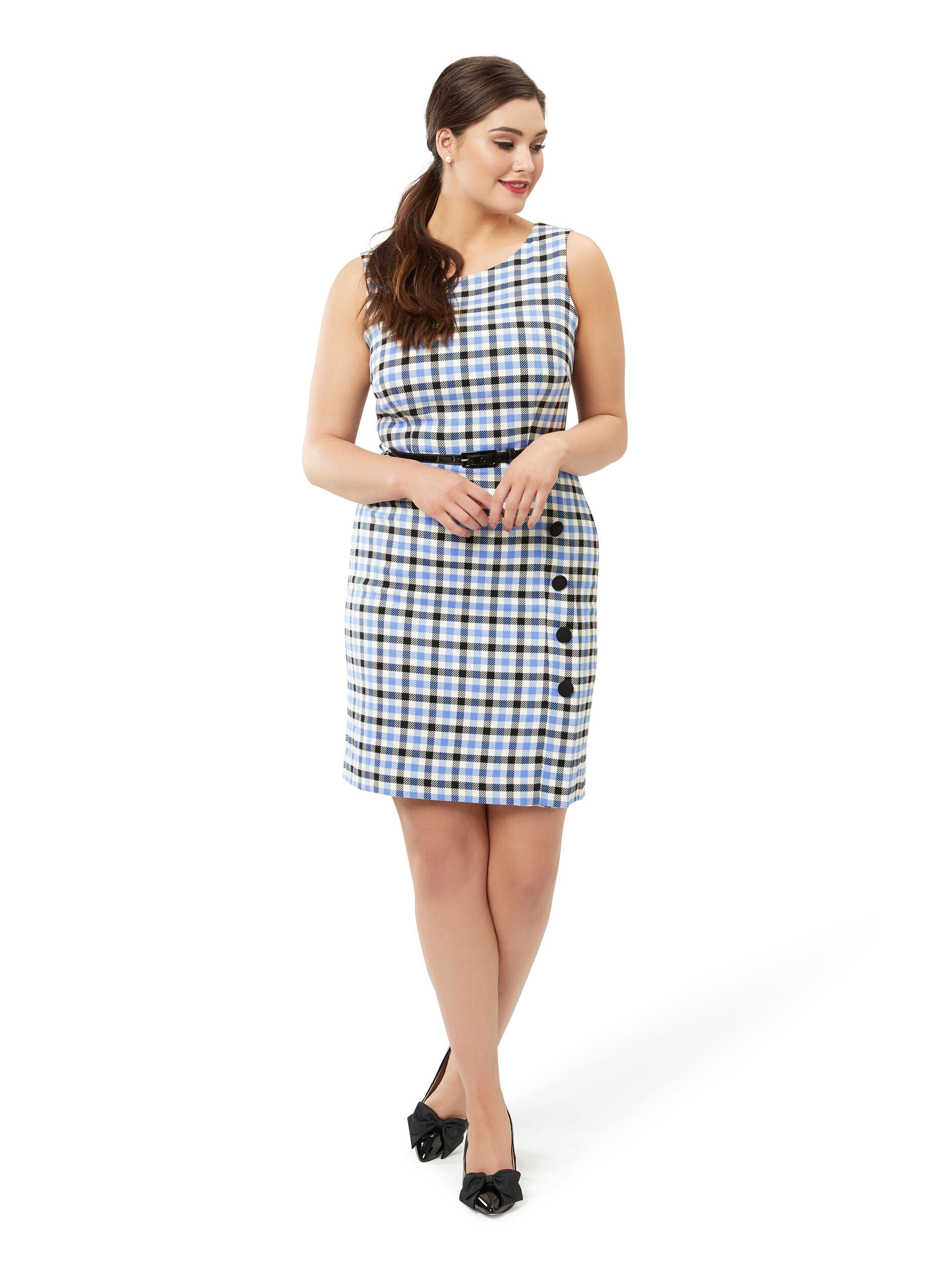 Wilma Check Dress
