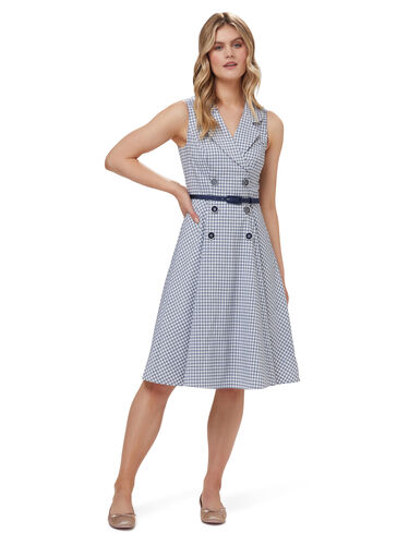 Geri Gingham Dress
