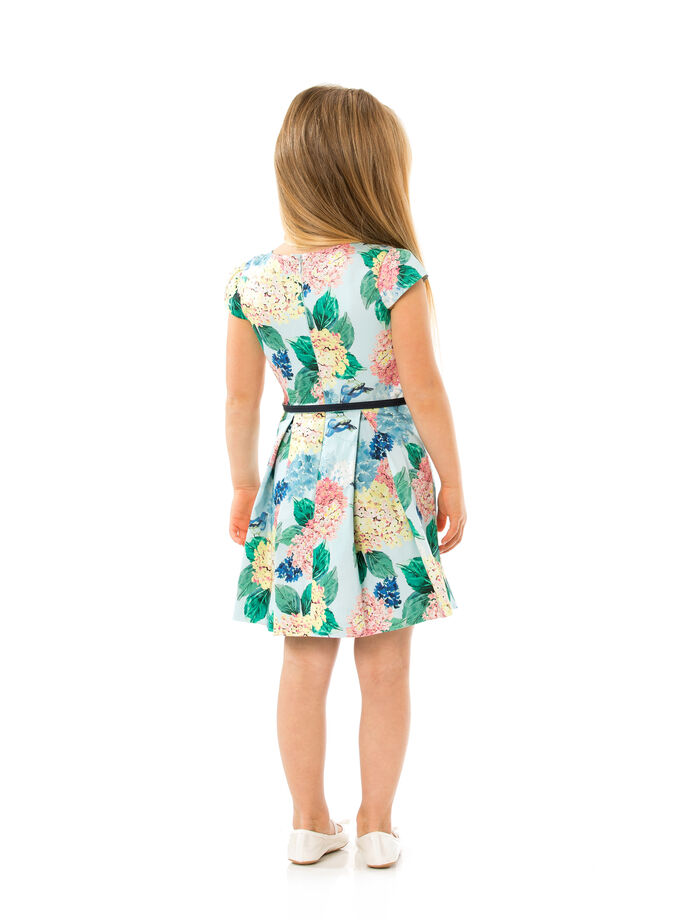 3-7 Girls Floral Prom Dress