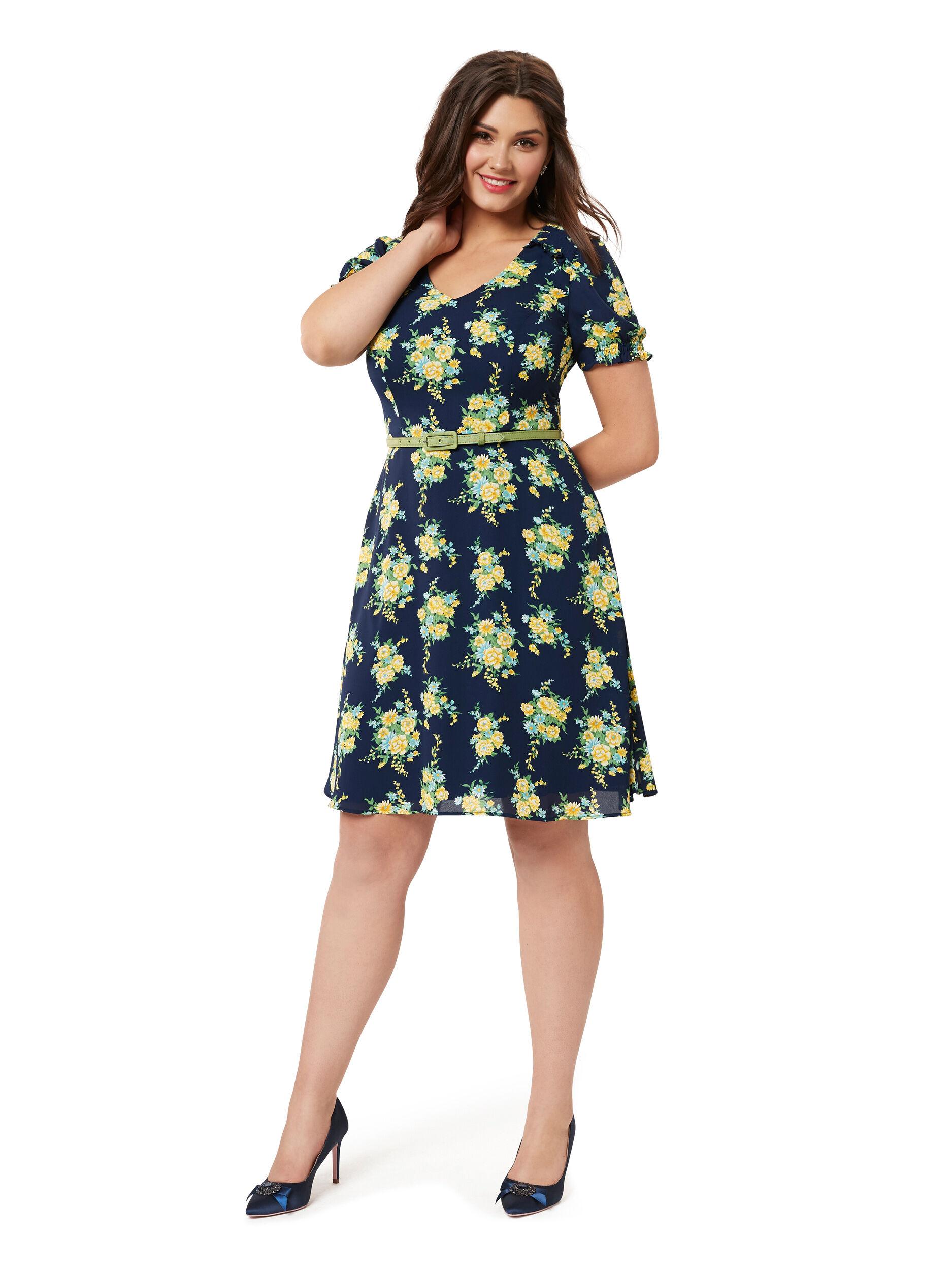 Farrah Floral Dress