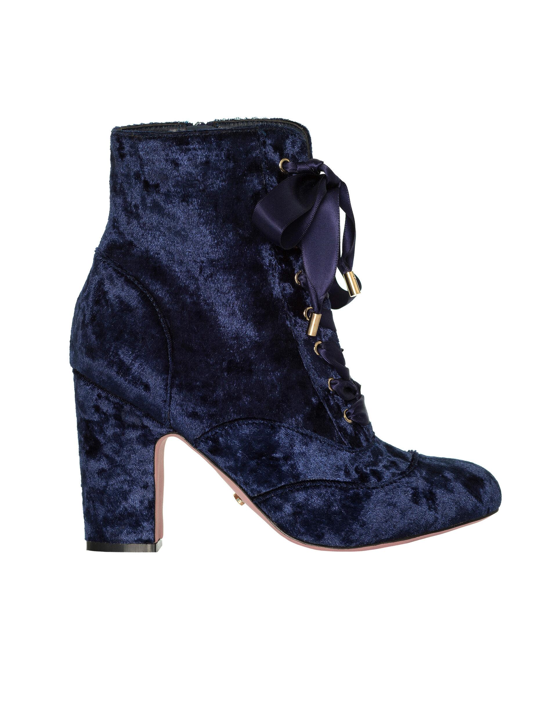 Luxe Velvet Boot
