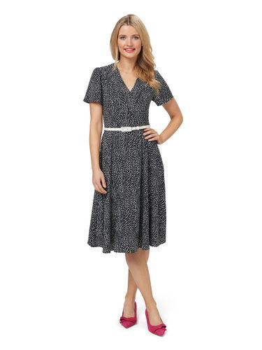 Aurelie Spot Dress