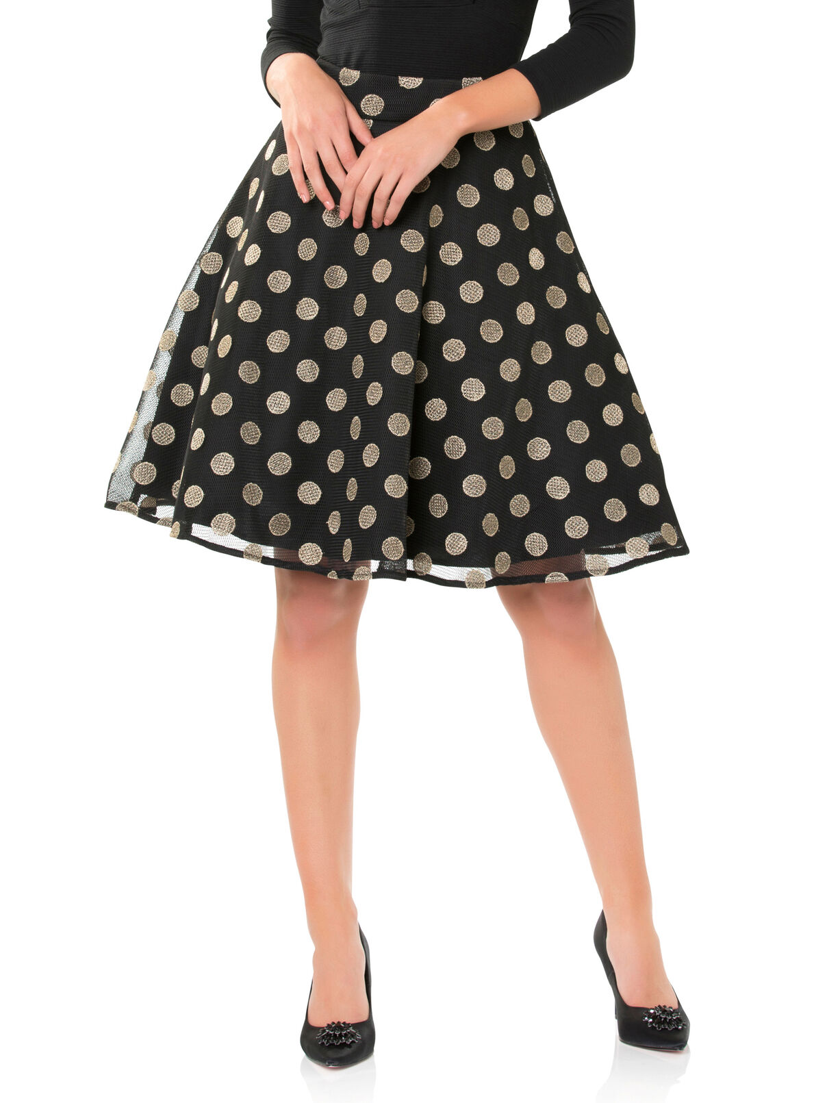 Night In New York Skirt | Tuggl