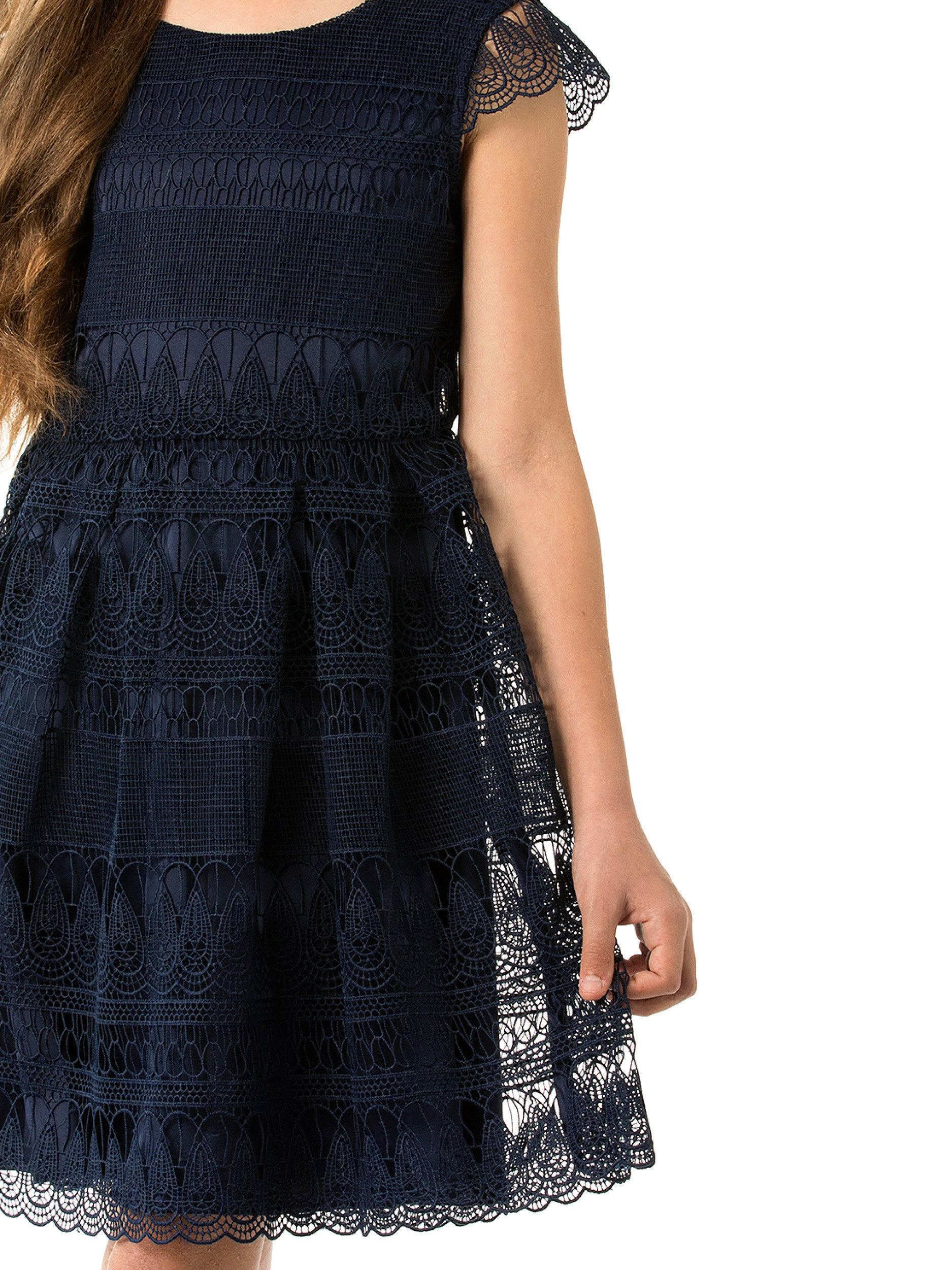 8-14 Girls Review Lace Dress