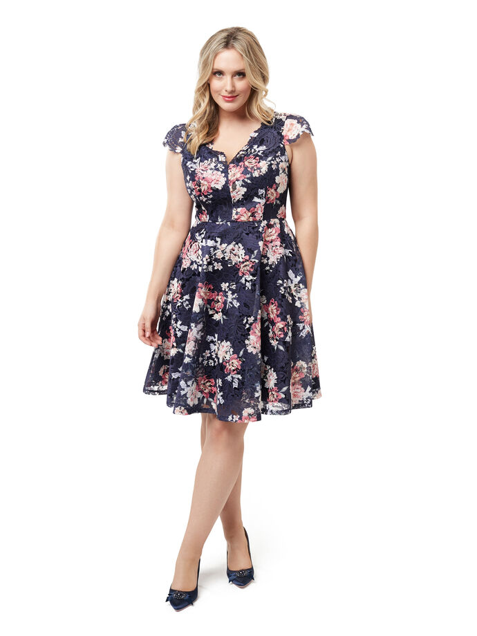 Radiance Blossom Dress