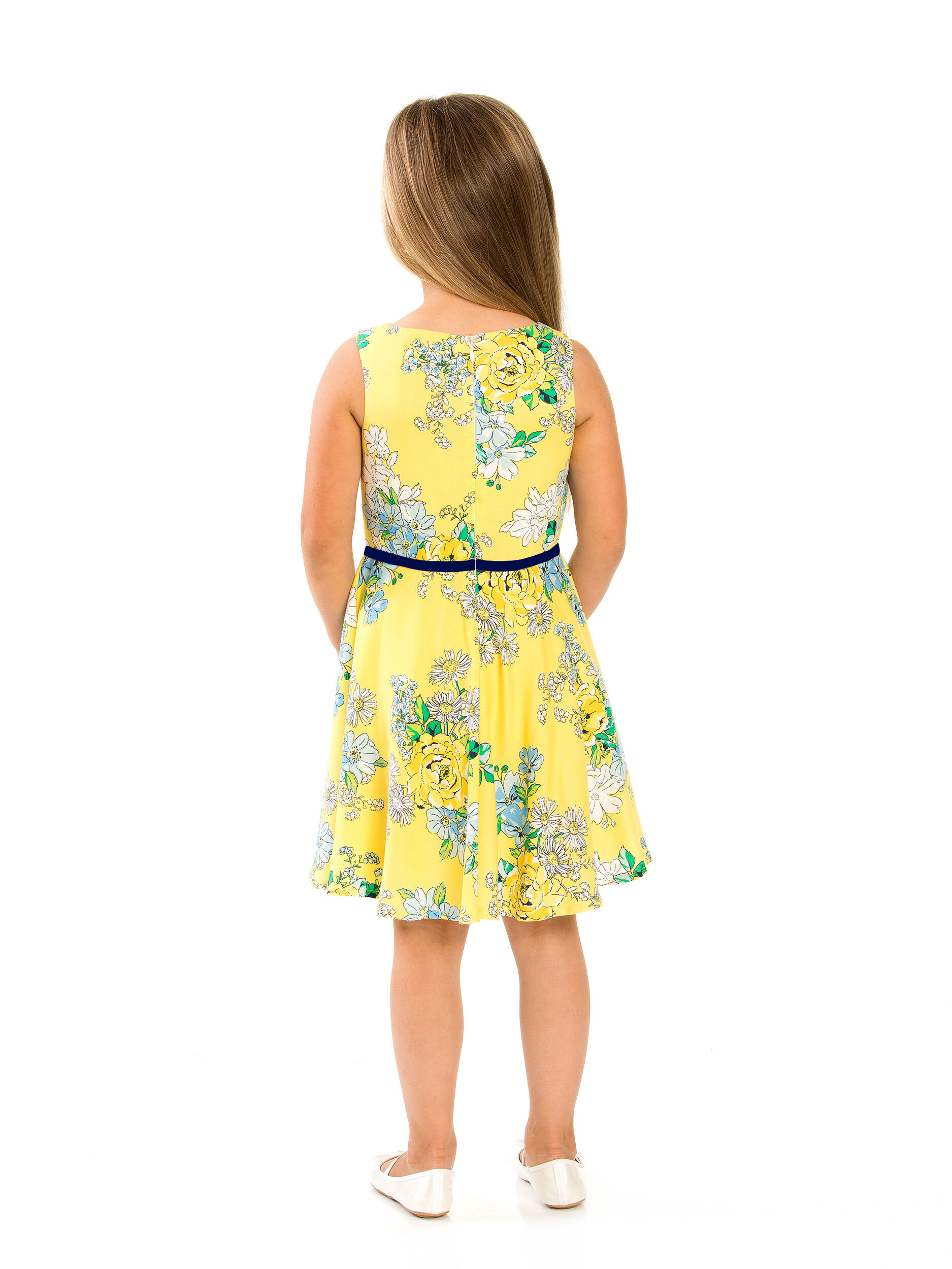 8-14 Girls Circle Skirt Dress
