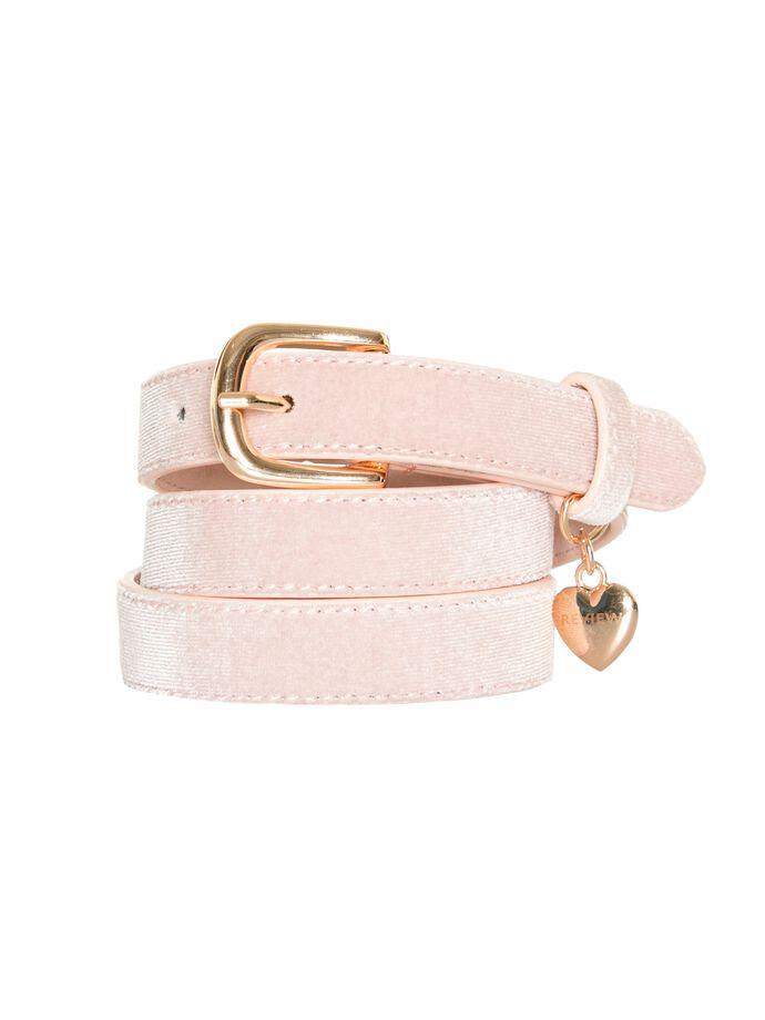 I Heart Review Belt