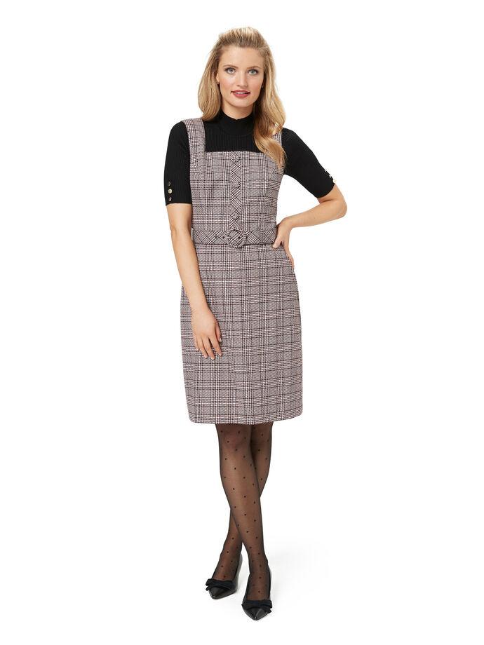 Priska Check Dress
