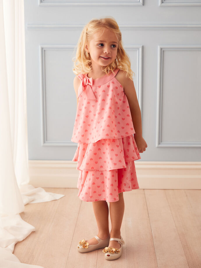 3-7 Girls Heart Dress