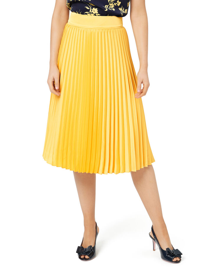 Sun Ray Pleat Skirt