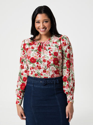 Admiral Floral Top