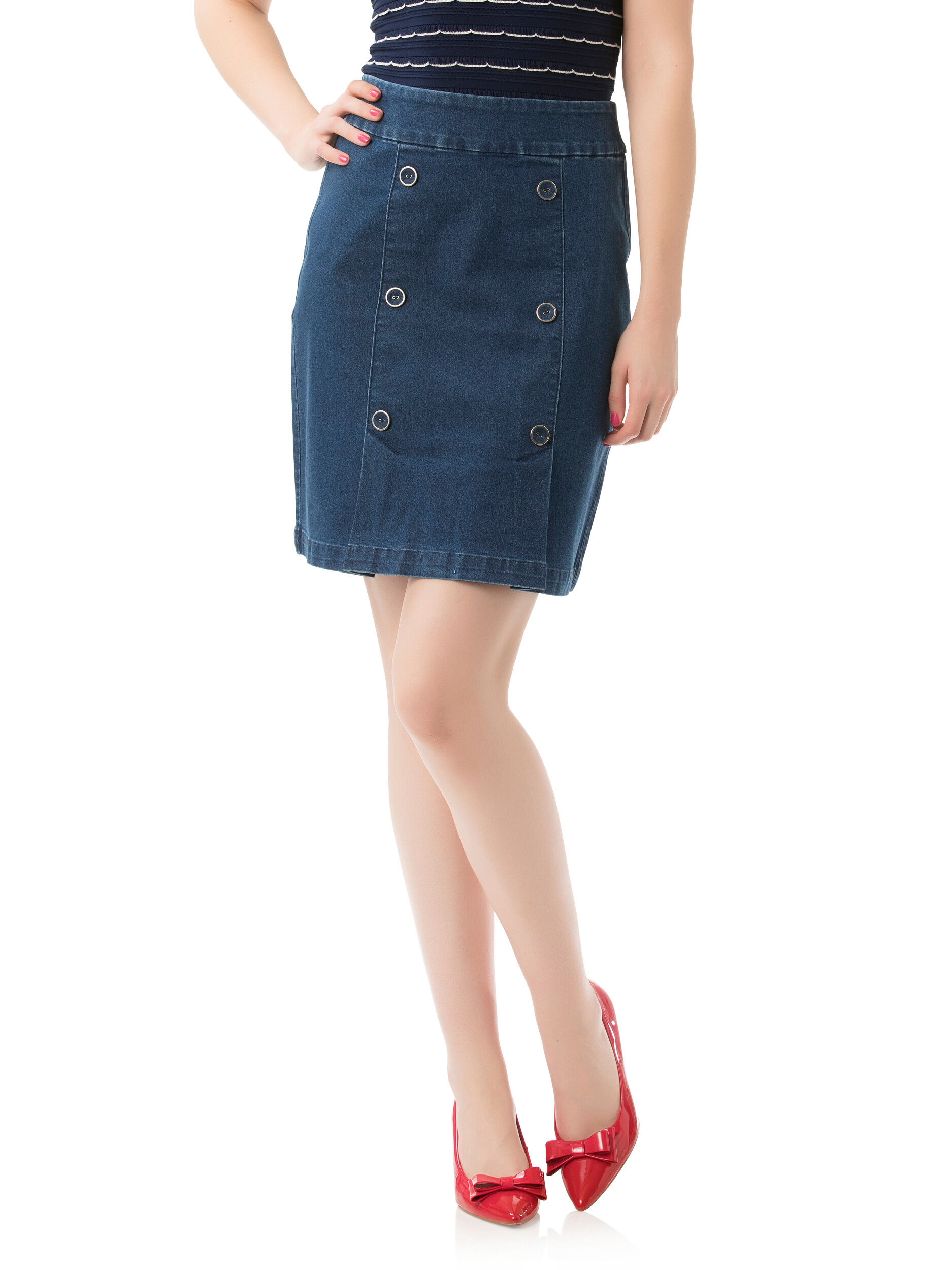Rylie Denim Skirt