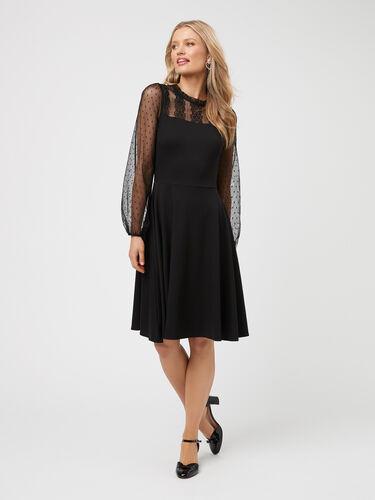 Dixie Ponte Dress