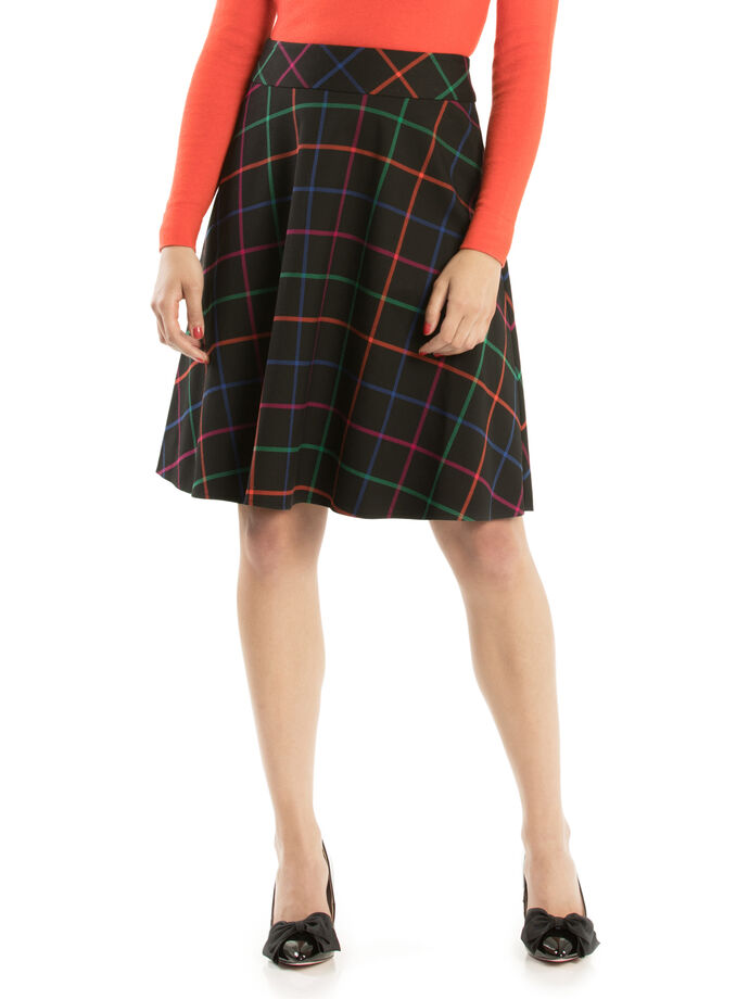 Caity Check Skirt