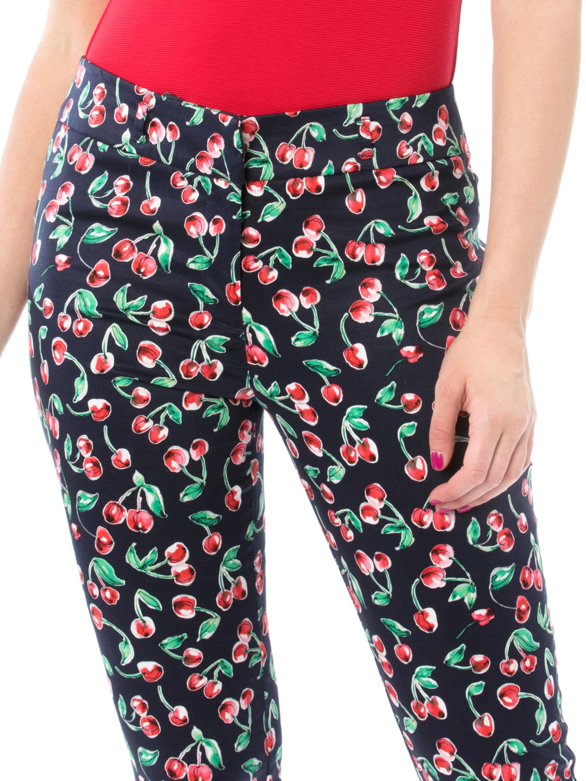 Cherry Delight Capri Pants
