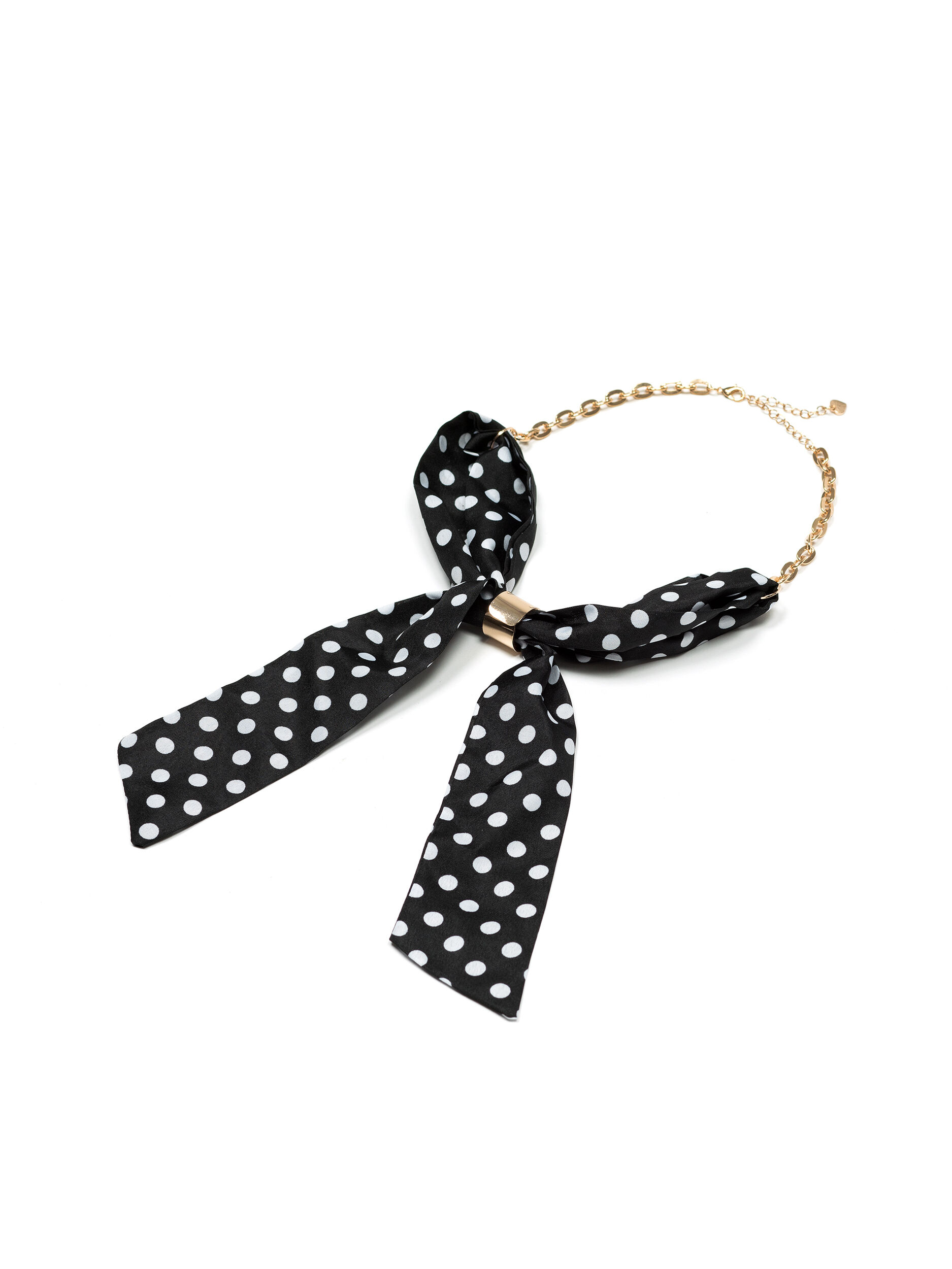 Spotty Tie Necklace