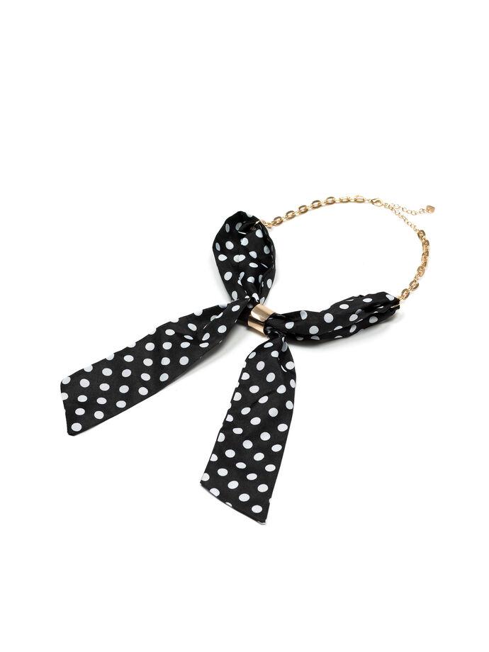 Spotty Tie Necklace