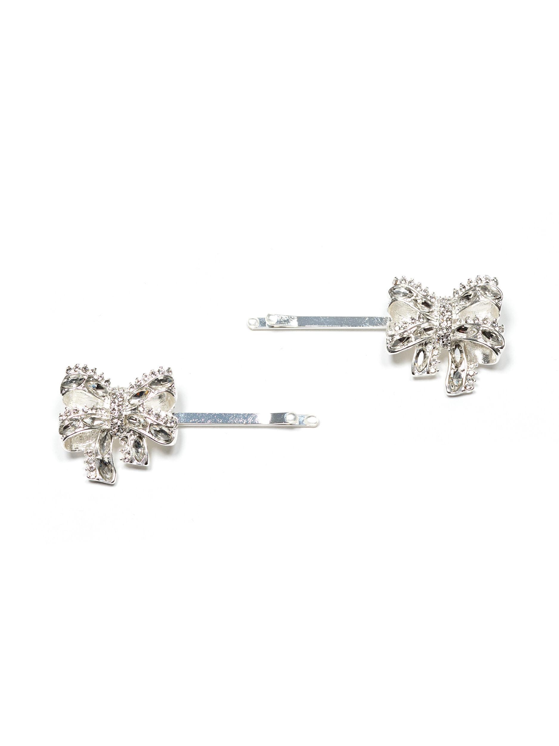 Sparkle Bow Hair Pin