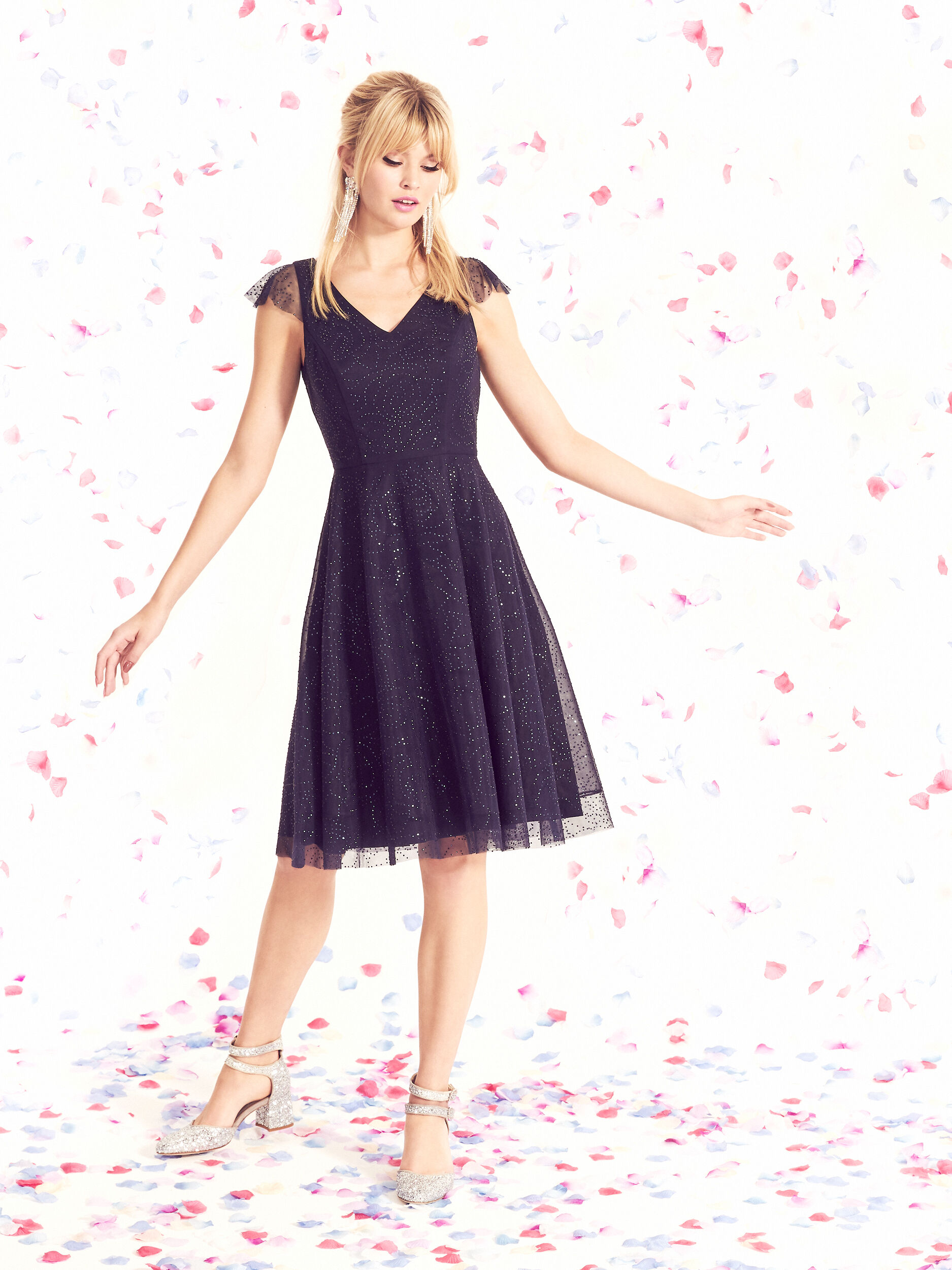 Raindrops On Roses Dress