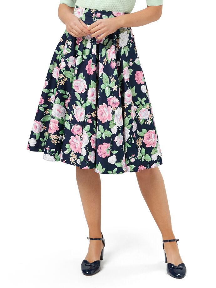 Phillipa Floral Skirt