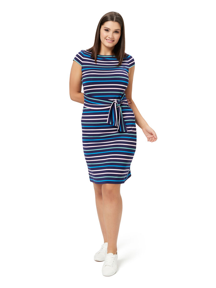 Amalfi Stripe Dress