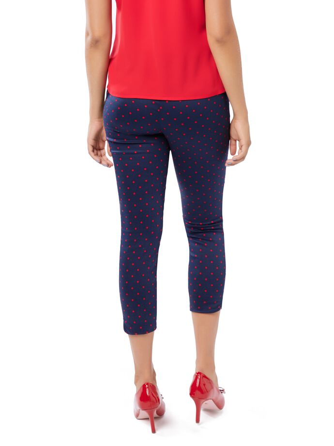 Spot Luck Capri Pants