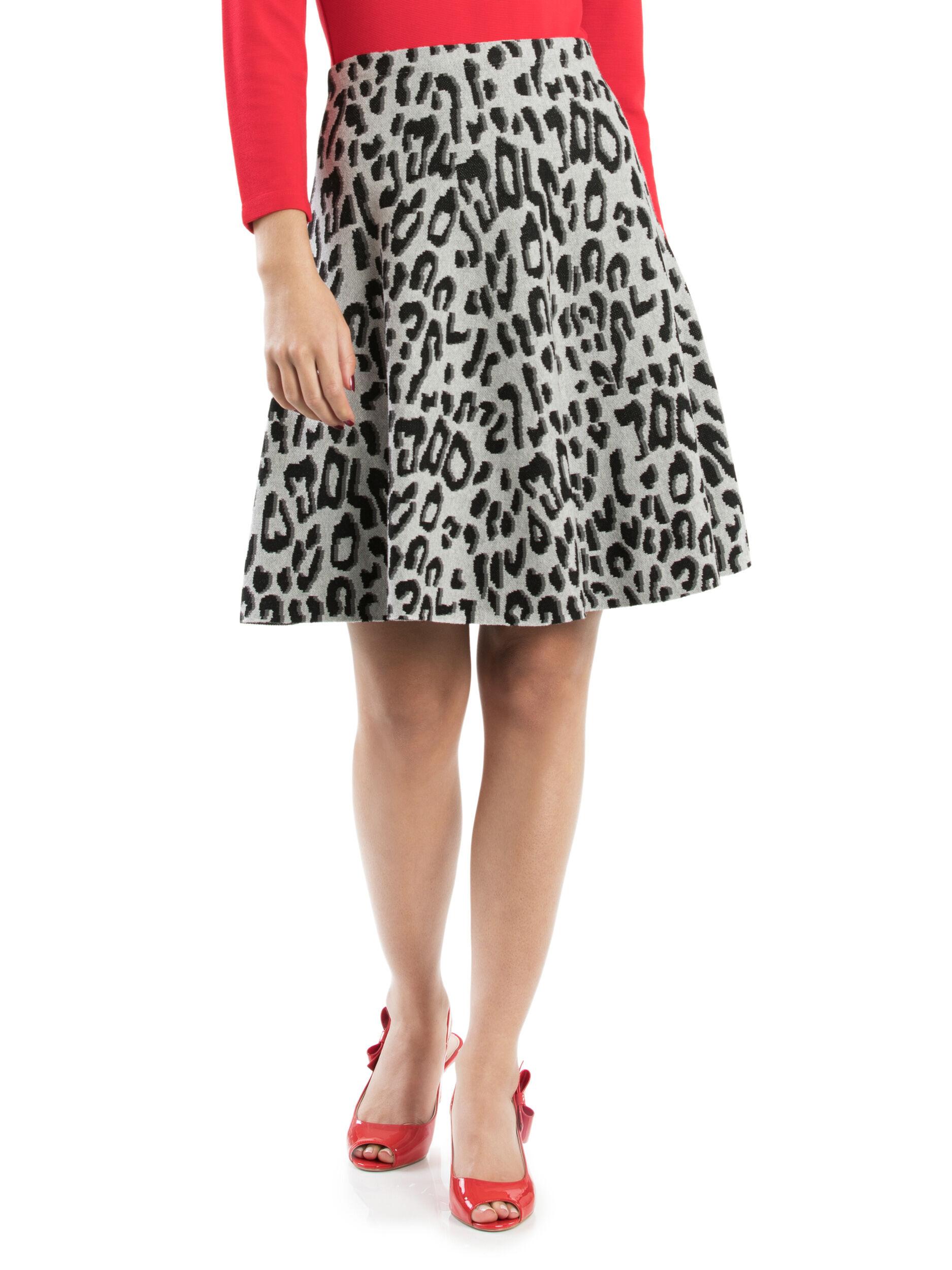 Snow Leopard Skirt