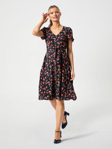 Flourishing Freesias Dress