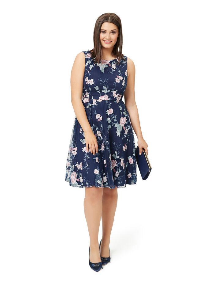 Blue Jasmine Dress