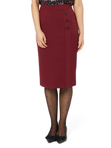 Romy Ponte Skirt
