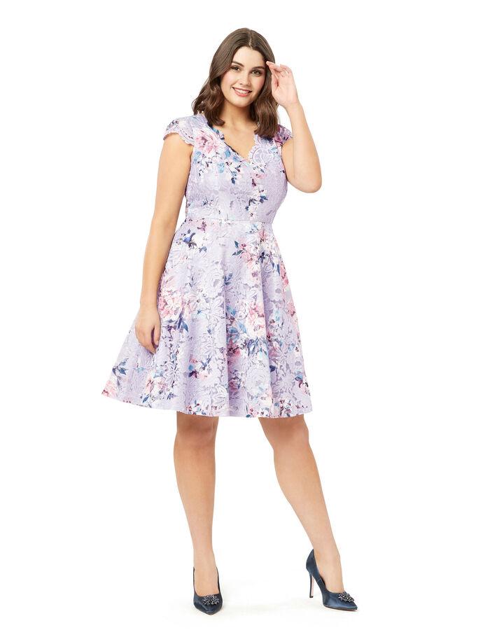 Peony Rose Lace Dress