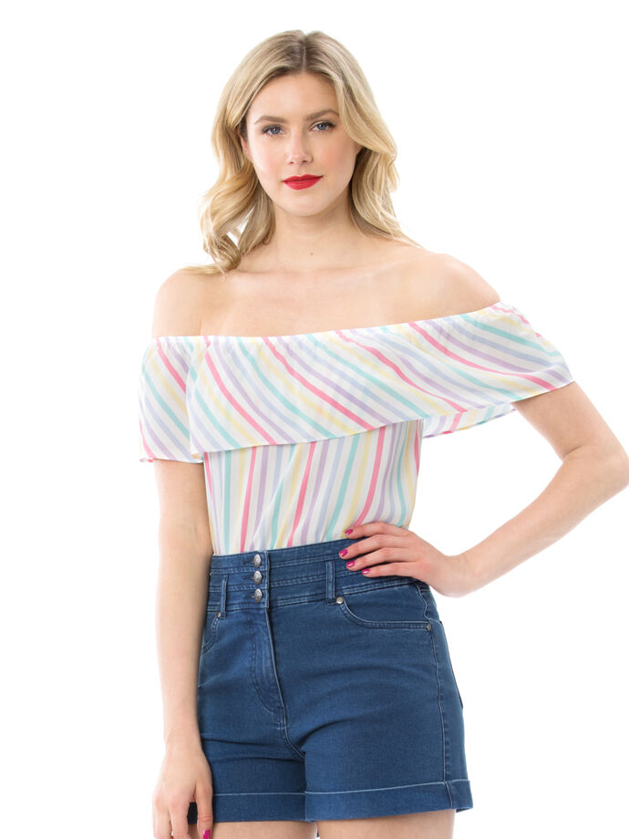 Bertie Stripe Top