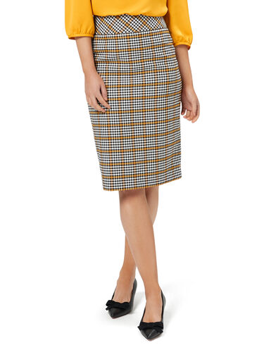 Zoe Check Skirt
