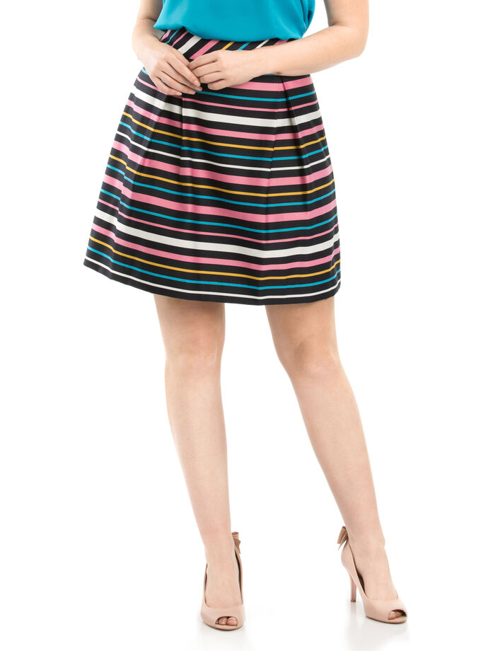 Rainbow Stripe Skirt